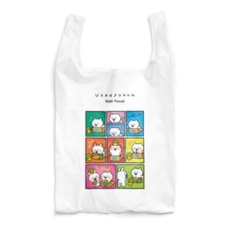 うさぎゅーん!!!ともだちストーリー Reusable Bag