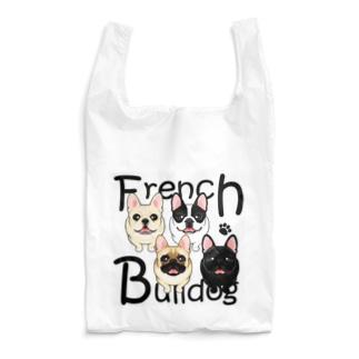 フレンチブルドッグ フレンチブル ABCDOGS Reusable Bag
