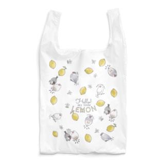 レモン文鳥・エコバッグ Reusable Bag