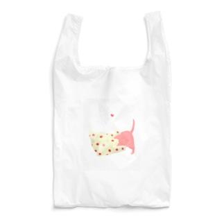 エコバックに潜るネコ Reusable Bag