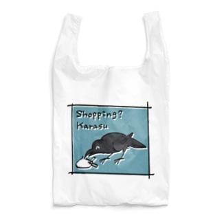 ショッピング?カラス Reusable Bag