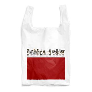とーとつにエジプト神 12柱 名前つき 赤 Reusable Bag
