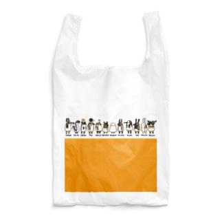 とーとつにエジプト神 12柱 名前つき オレンジ Reusable Bag