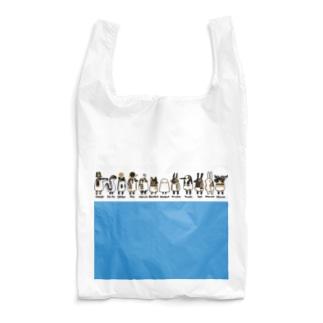 とーとつにエジプト神 12柱 名前つき 青 Reusable Bag