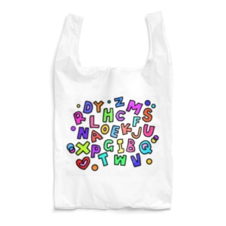 アルファベット Reusable Bag