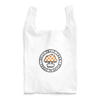 DFTエコバッグ(リンゴ) Reusable Bag