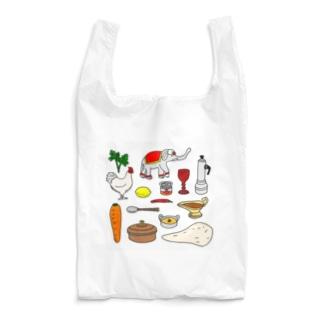 本場のカレー Reusable Bag