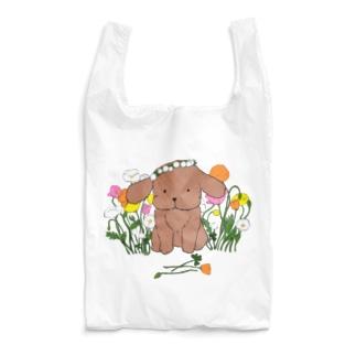 春の犬 Reusable Bag