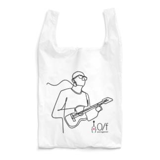 0/f ゆるがない ロゴ02 Reusable Bag