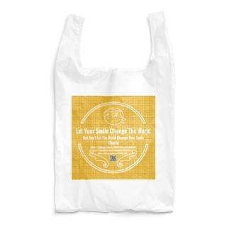 Charlie ロゴ 黄 Reusable Bag