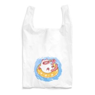 バカンスジャムねこ Reusable Bag