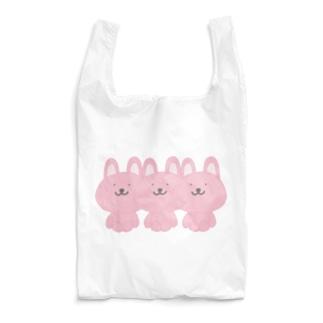 仲良しうさぎさん Reusable Bag