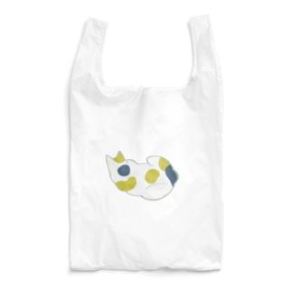 猫が陣取る 中 Reusable Bag