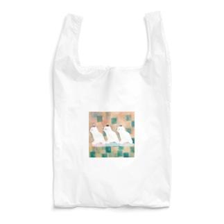 たかどのみこと🕊のしろくま三匹 Reusable Bag