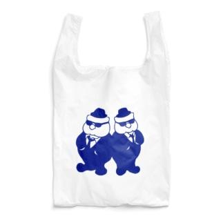 ほっぺぇた(頬平太)のふっくらブラザーズ Reusable Bag
