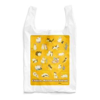 シフォンとマロンとおともだち02 Reusable Bag