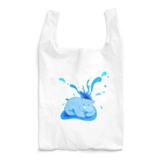 あおいウォンバット Reusable Bag