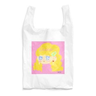 ロマンティックガール(ピンク) Reusable Bag
