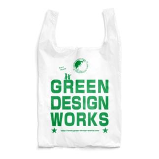 GREEN DESIGN WORRKS エコバッグ Reusable Bag