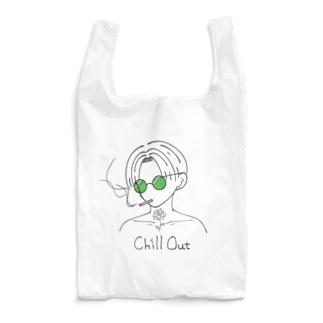 チルアウト(緑ver.) Reusable Bag