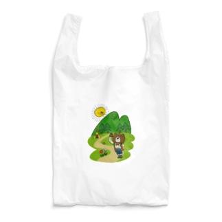 クマさんのキャンプ Reusable Bag