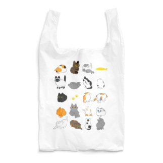 猫いっぱい Reusable Bag