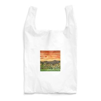 馬のエコバッグ 【夕日】 Reusable Bag