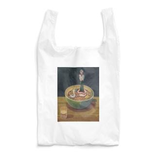 犬と麺と待ちぼうけ Reusable Bag