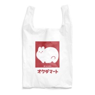 オケダマート(えんじ) Reusable Bag
