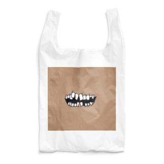 ★歯茎★黄土色★ Reusable Bag