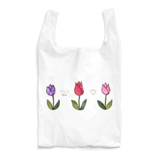 Tsun tun tulip Reusable Bag
