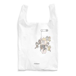 8猫しがみつきイッチャマン Reusable Bag