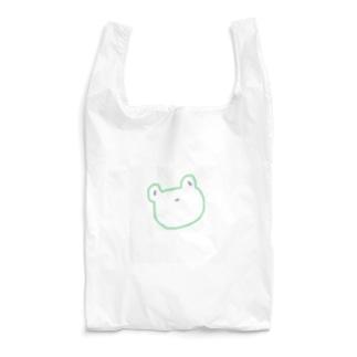 どうぶつ店のかえる Reusable Bag