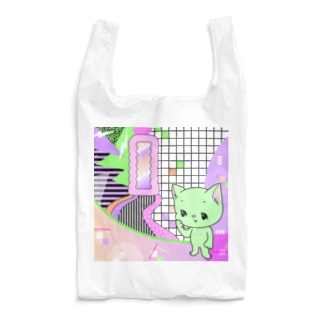 What is cute? メロンクリーム猫さん Reusable Bag