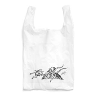 タコとカエル Reusable Bag