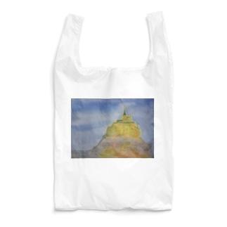 モンサンミッシェル Reusable Bag