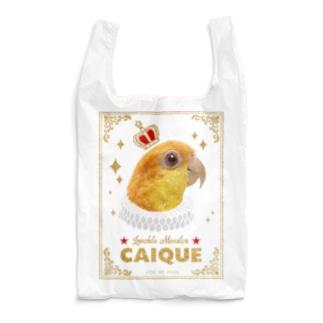 鳥貴族 シロハラインコ Reusable Bag