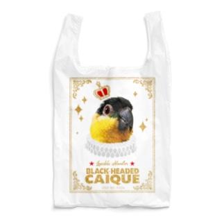 鳥貴族 ズグロシロハラインコ Reusable Bag