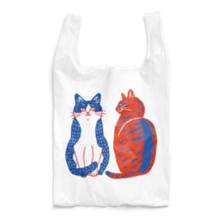 ハチワレさんとキジトラさん Reusable Bag
