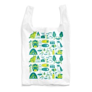 camp cats Reusable Bag