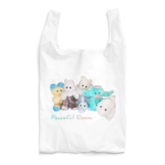 RAITYO TSUMEのpeaceful room Reusable Bag
