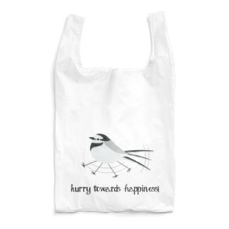 ハクセキレイエコバッグ Reusable Bag