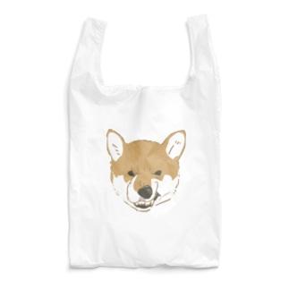 くいしばるいぬ Reusable Bag