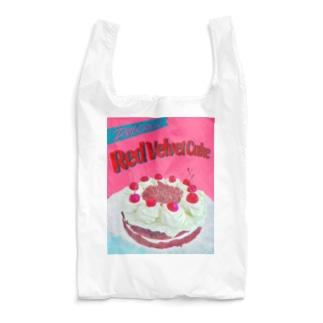 Red Velvet Cake  Reusable Bag