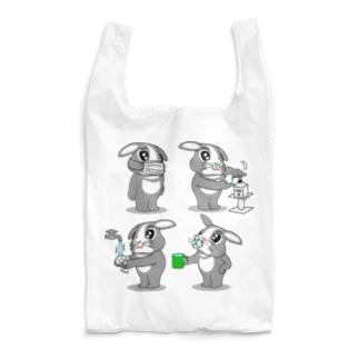 はこちゃんとお友達 感染予防エコバック Reusable Bag