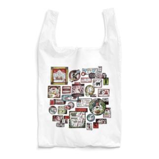 看板街-猫とキノコ Reusable Bag