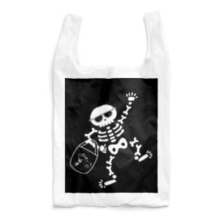 おとぼけ骸骨のお買い物 Reusable Bag