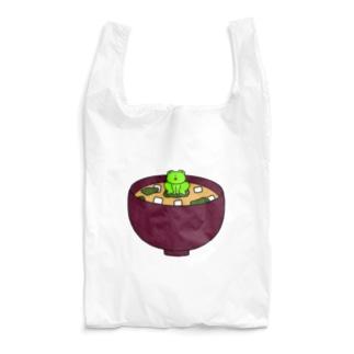 味噌汁に住んでるカエル Reusable Bag
