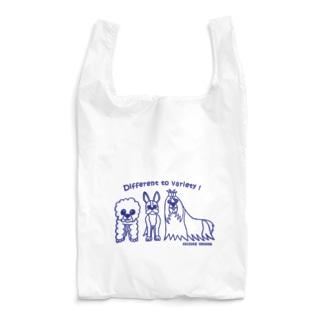 犬のトリオ Reusable Bag