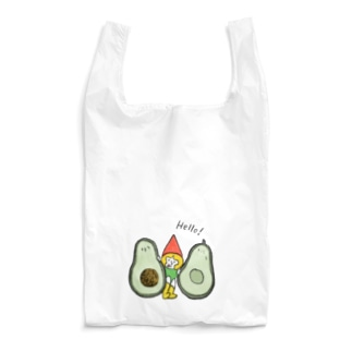アボカドととんがり帽子 Reusable Bag
